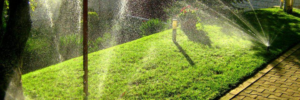 Тревата винаги е по-зелена от твоята страна на оградата с подходящи поливни системи